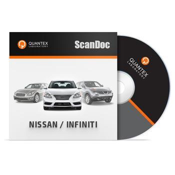 Программный модуль NISSAN / INFINITI для ScanDoc