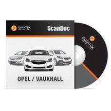 Программный модуль OPEL / VAUXHALL для ScanDoc