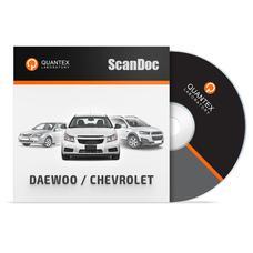 Программный модуль DAEWOO / CHEVROLET для ScanDoc
