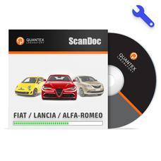 Программный модуль FIAT / ALFA-ROMEO / LANCIA  для ScanDoc