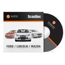 Программный модуль FORD/ LINCOLN/ MAZDA для ScanDoc