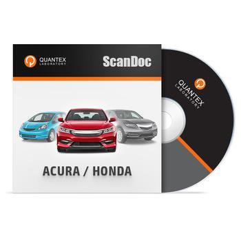 Программный модуль ACURA / HONDA для ScanDoc
