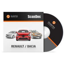 Программный модуль RENAULT/DACIA для ScanDoc