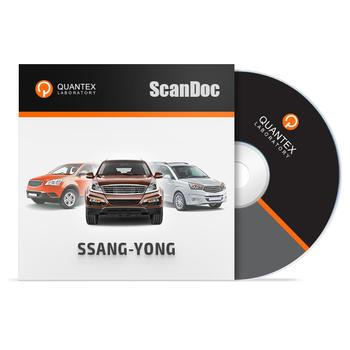 Программный модуль SSANG-YONG для ScanDoc