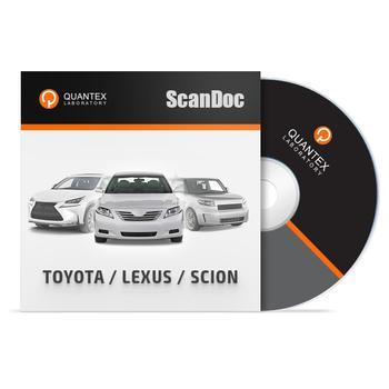 Программный модуль TOYOTA/LEXUS/SCION для ScanDoc